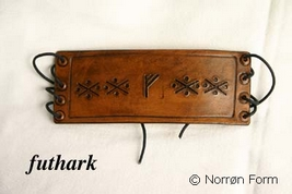 futhark leather bracelets