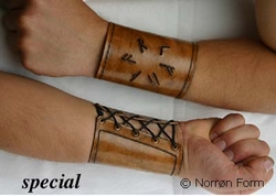 special leather bracelets